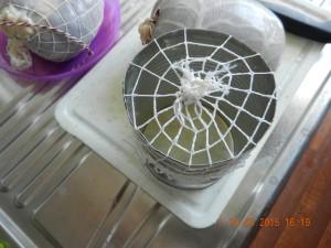 Dose mit Bratennetz